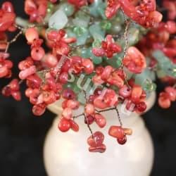 Сувенир из камня Коралловый Букет ru002005k
