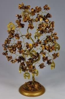 Дерево Удачи из камня
