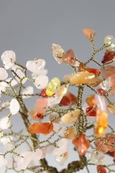 thumb_s00113qsb Райское Древо Любви из сердолик и розового кварца