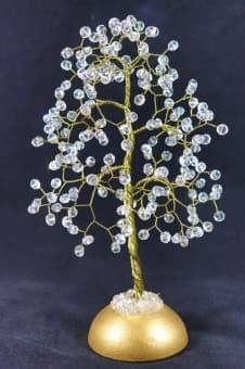 thumb_s001691 Подарок на 15 лет свадьбы дерево из хрусталя
