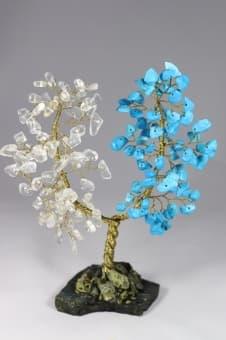 thumb_s0018915bg Подарок на 15 лет свадьбы дерево из хрусталя