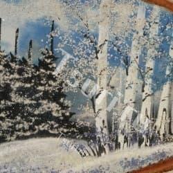 thumb_s1171325vva Картины из камня на срезе дерева