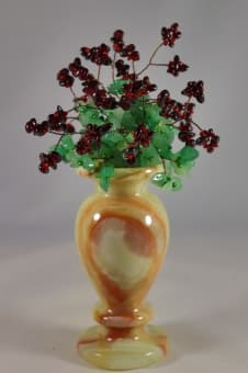 thumb_souvenir036 Каменный цветок из самоцветов