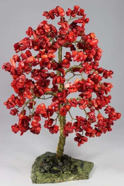 red_tree8 Сувениры и подарки из стекла и камней самоцветов