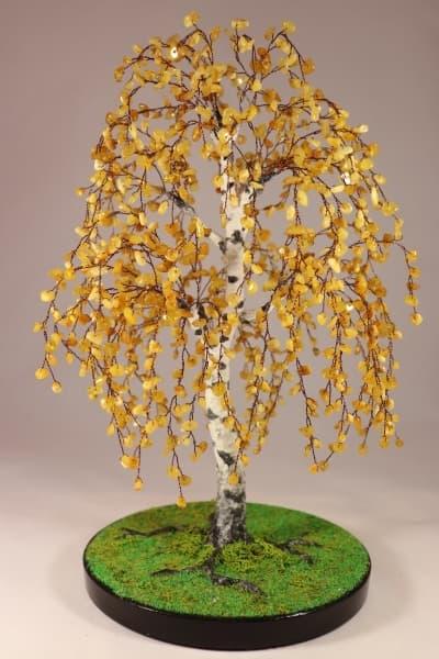 tree02 Подарок на деревянную свадьбу из самоцветов